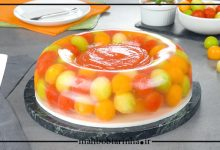 تصویر از ژله با میوه های تابستانی